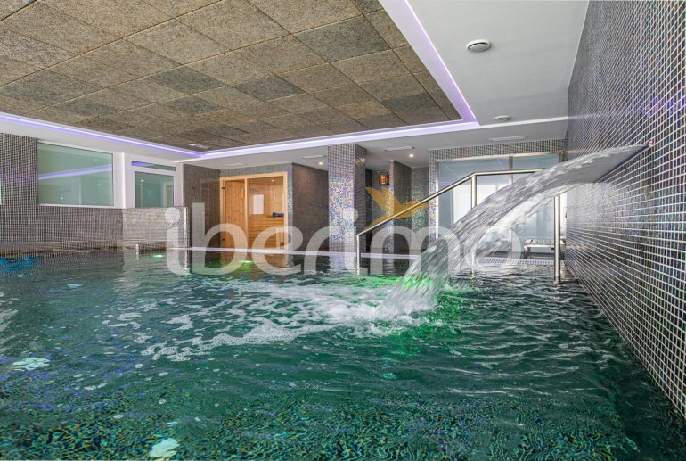 Apartamento familiar  en Alcossebre  para 5 personas en un complejo hotelero con piscina comunitaria y vistas directas al mar  p25