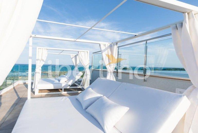Apartamento  en Alcossebre  para 5 personas en complejo hotelero con piscina comunitaria, gran terraza frente al mar  p19