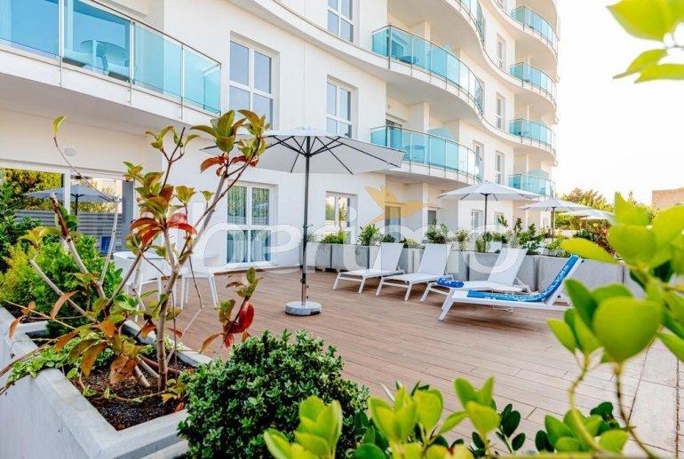 Apartamento  en Alcossebre  para 5 personas en complejo hotelero con piscina comunitaria, gran terraza frente al mar  p0