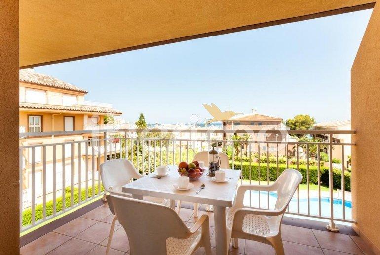 Apartamento   Alcoceber para 6 personas con piscina comunitaria y aere acondicionado p6