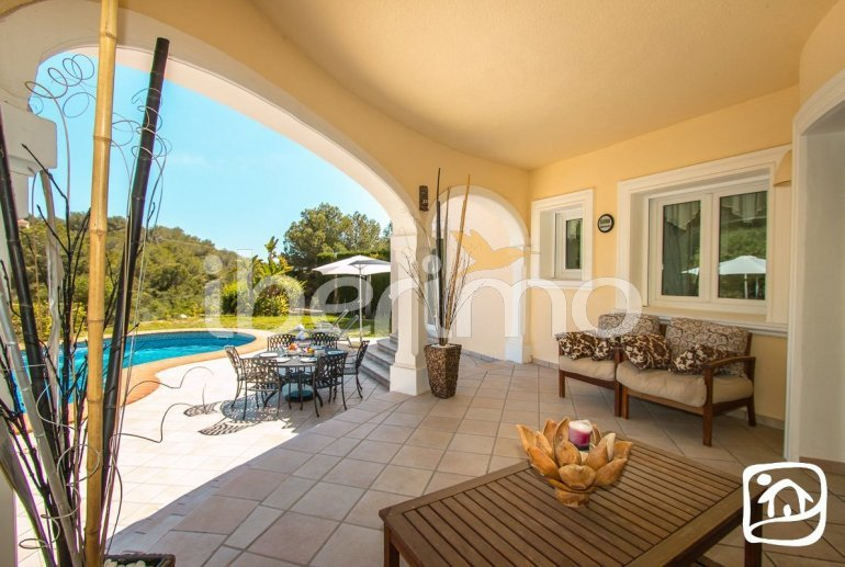 Villa   Benissa para 6 personas con piscina privada y aere acondicionado p11