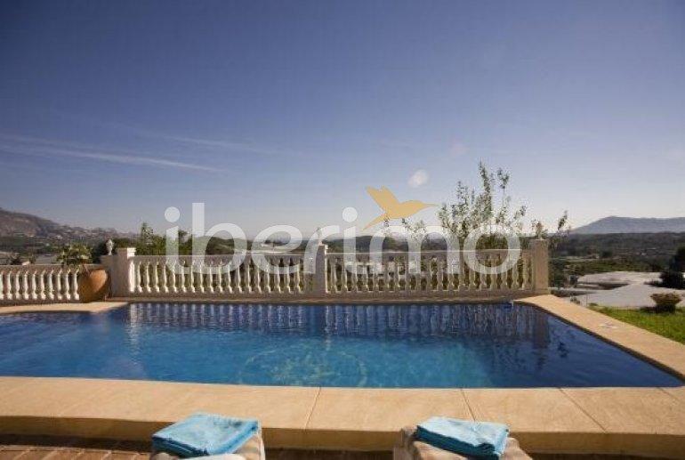 Villa   Callosa d´En Sarria - Confrides para 8 personas con piscina privada p2