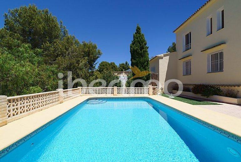 Villa   Moraira para 6 personas con piscina privada p6