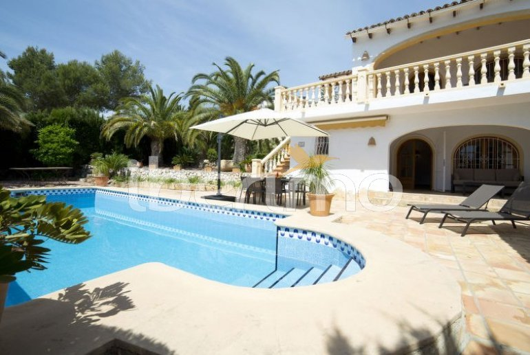 Villa   Benissa para 6 personas con piscina privada p4